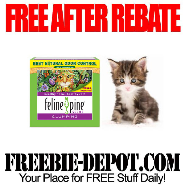 Free After Rebate Kitty Litter