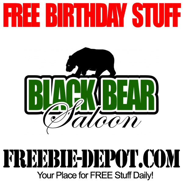 FREE Birthday Drink at Black Bear