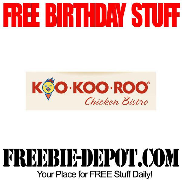 Free Birthday Koo Koo Roo