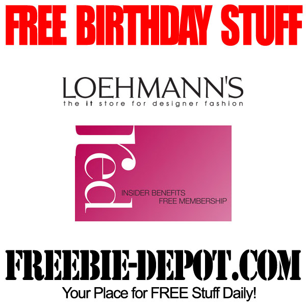 Free Birthday Discount
