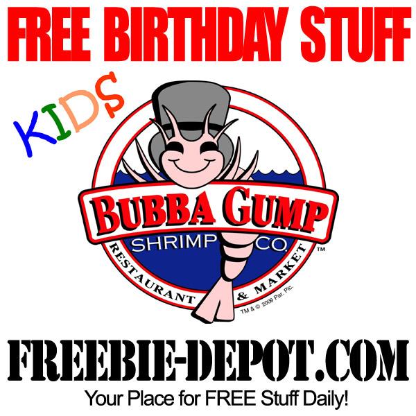 FREE Birthday Kids Shrimp
