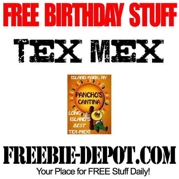 Free Birthday Tex Mex