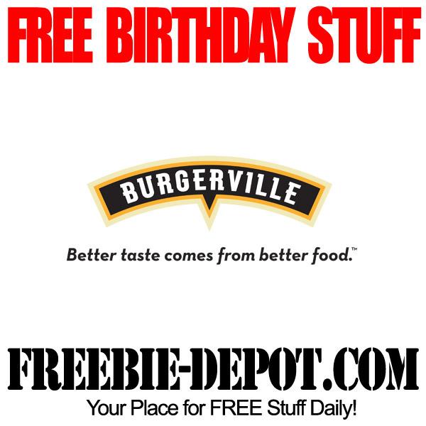 Free BDay Burger