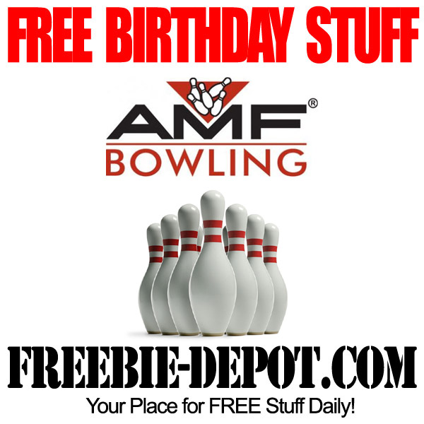 Free Birthday Bowling