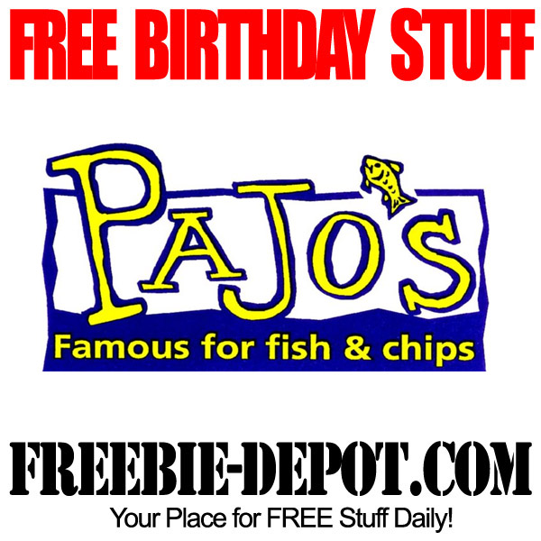 Free Birthday Fish & Chips