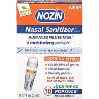 Free Nasal Sanitizer