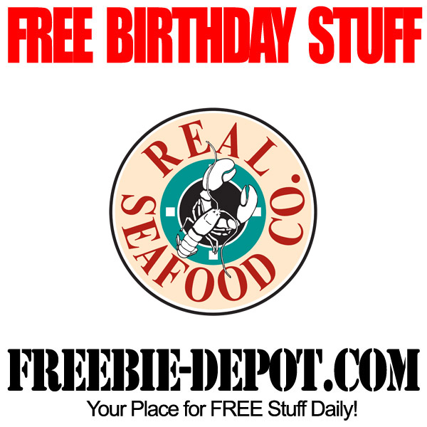 Free Birthday Real Seafood