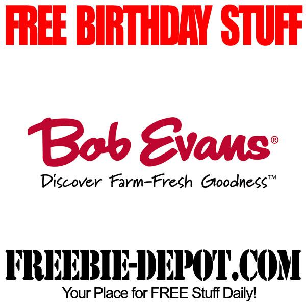 Free Kids Birthday Meal at Bob Evans