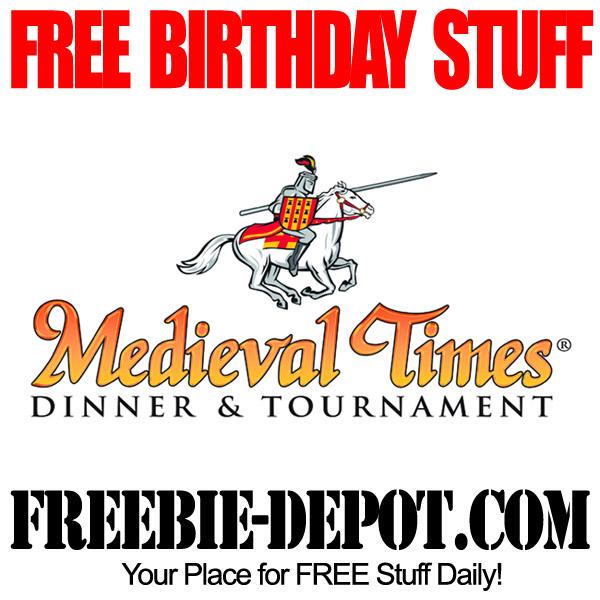 Free Birthday Medieval Times