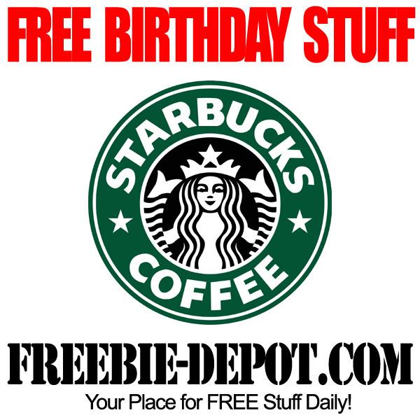 Free Birthday Starbucks