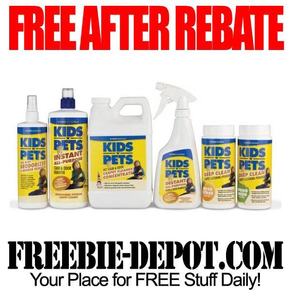 Free After Rebate Kids-n-Pets