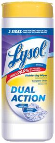 Free After Rebate Lysol Wipes