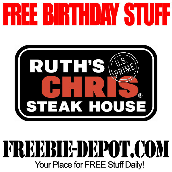 Free Birthday at Ruths Chris