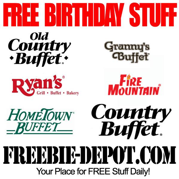Free Birthday Buffet