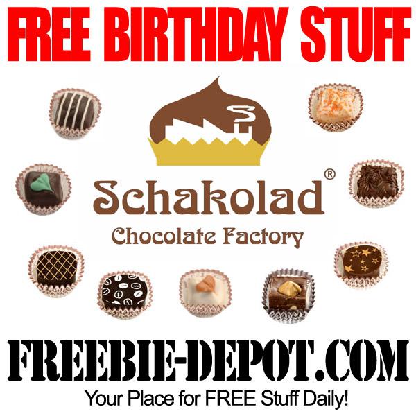 Free Birthday Stuff Chocolate Truffle