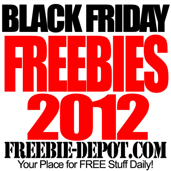 Free Stuff Black Friday 2012