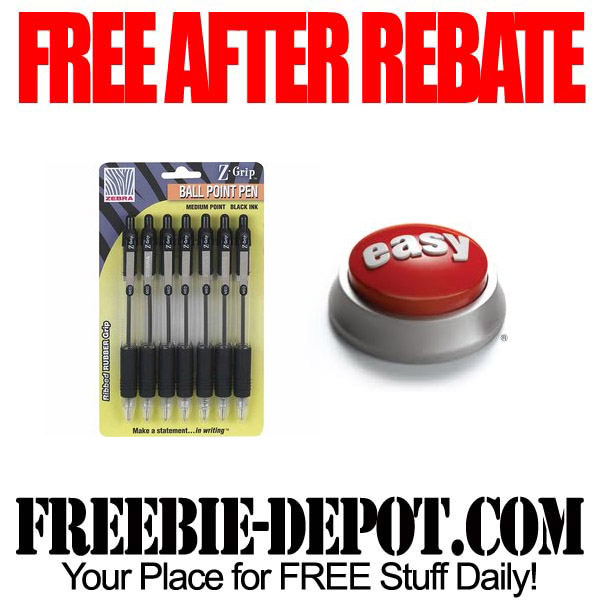 Free After Rebate Ball Point Pens