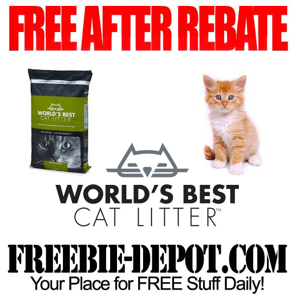 Free After Rebate Cat Litter