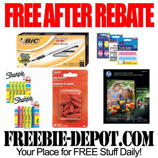 Free After Rebate School Stuff