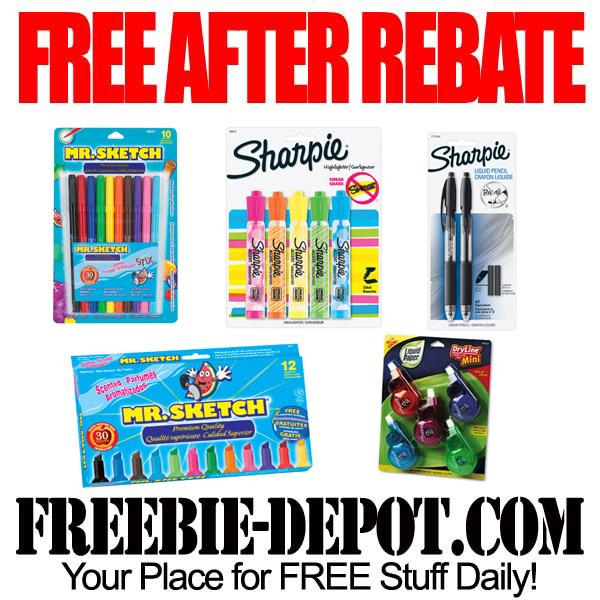 Free After Rebate Writing Utensils