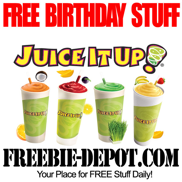 Free Birthday Smoothie Drink