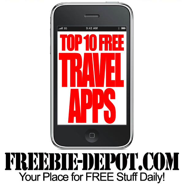 Top 10 Free Travel Apps