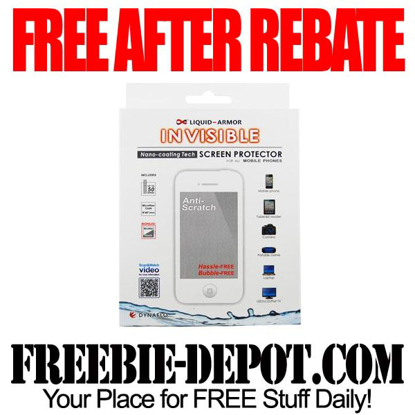 Free After Rebate Screen Protector