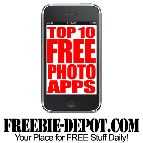 Top 10 Free Photo Apps