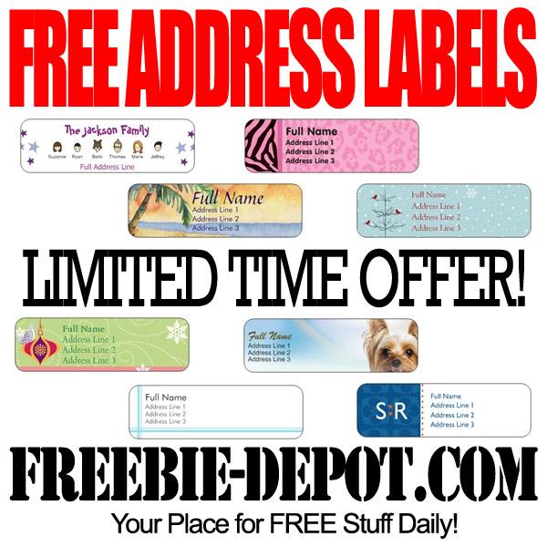 Free Address Labels