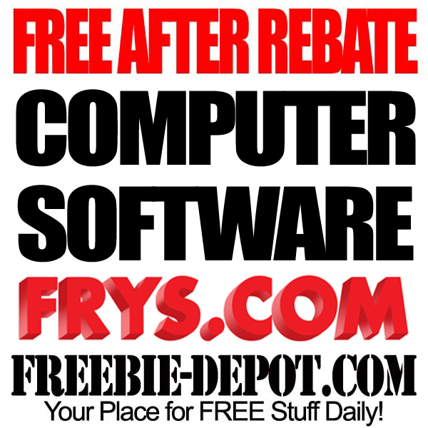 Free After Rebate Computer Software
