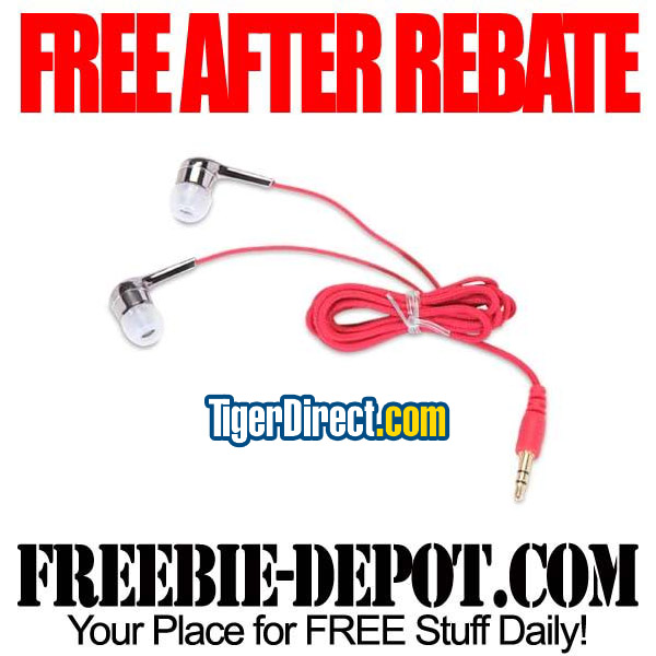 Free After Rebate Earbuds