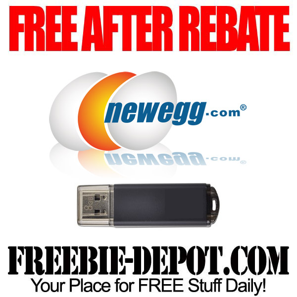 Free After Rebate USB Drive
