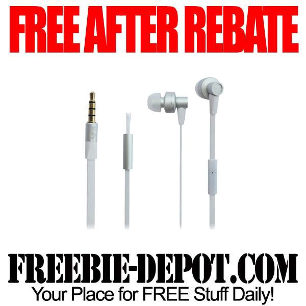 Free After Rebate EarBuds
