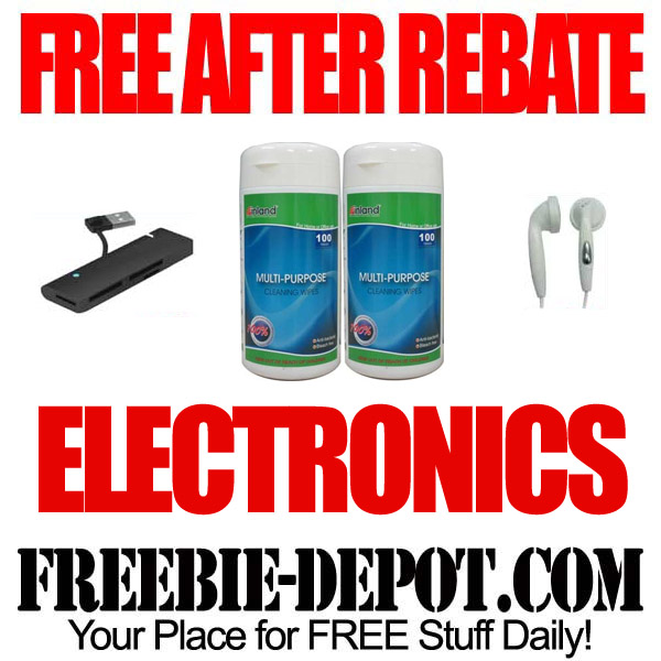 Free After Rebate Electronic Items