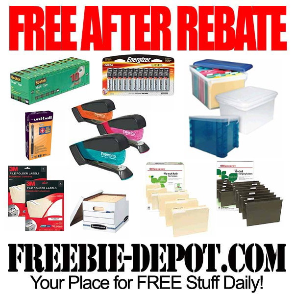 Free After Rebate Office Supply Stuff