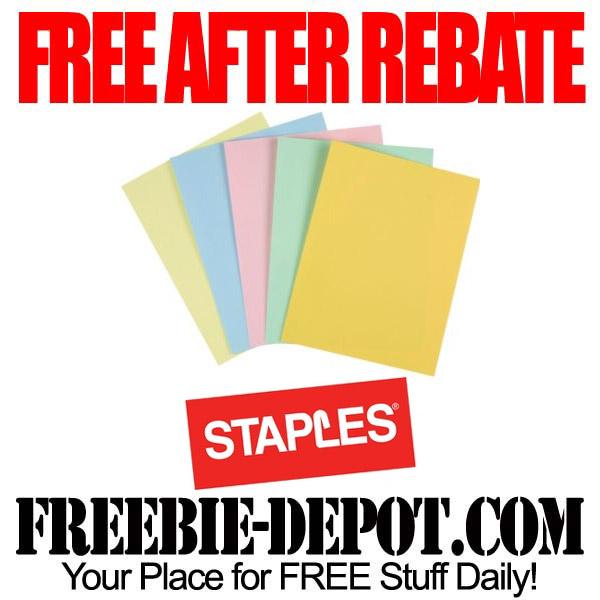 Free After Rebate Pastel Paper
