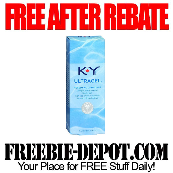 Free After Rebate Personal Lubricant