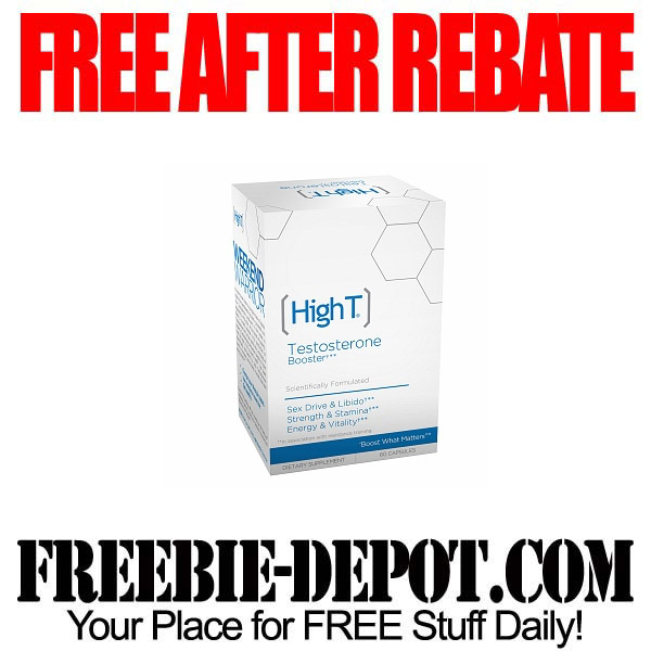Free After Rebate Testosterone Booster