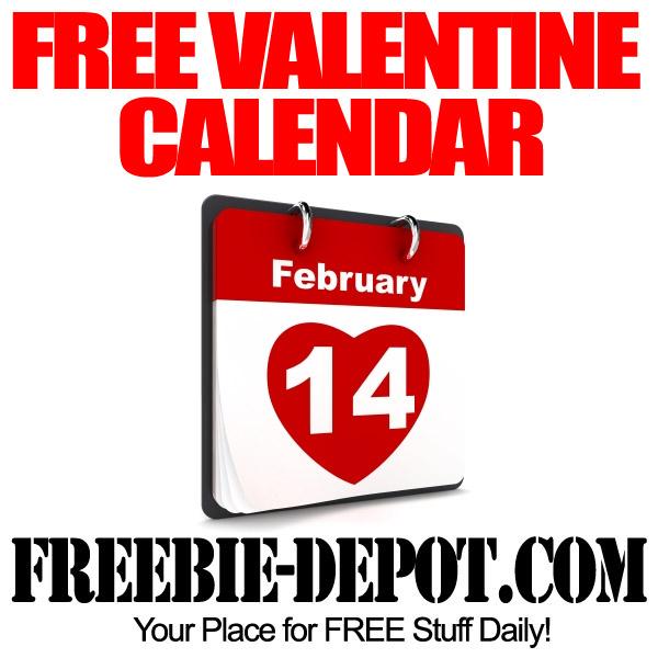 Free Valentine Calendar