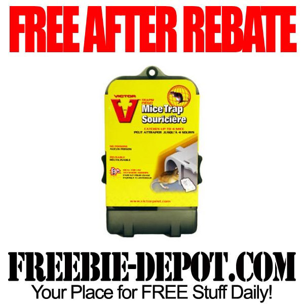 Free After Rebate Mouse Traps