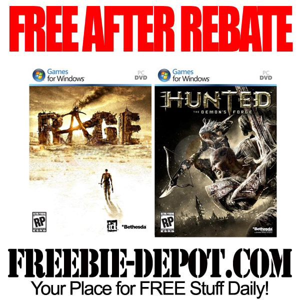 Free After Rebate PC Games