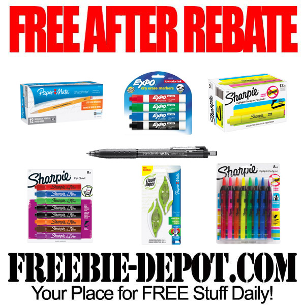 Free After Rebate Pens and Markers