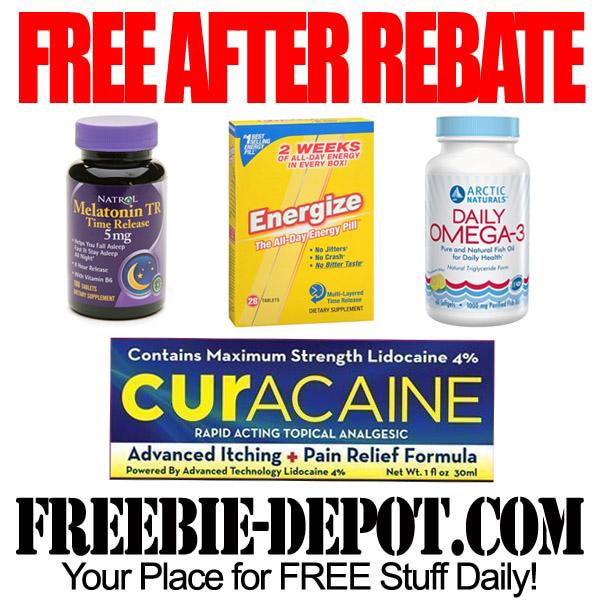 Free After Rebate Health Items at Walgreens