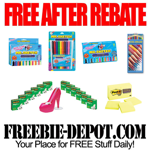 Free After Rebate Post-it Notes