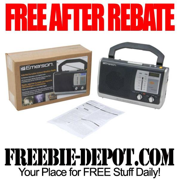 Free After Rebate Radio