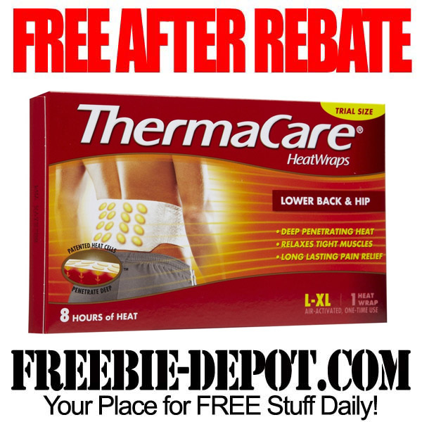 Free After Rebate Thermacare Wrap