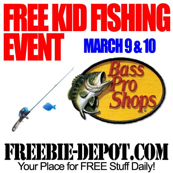 Free Kid Fishing Event