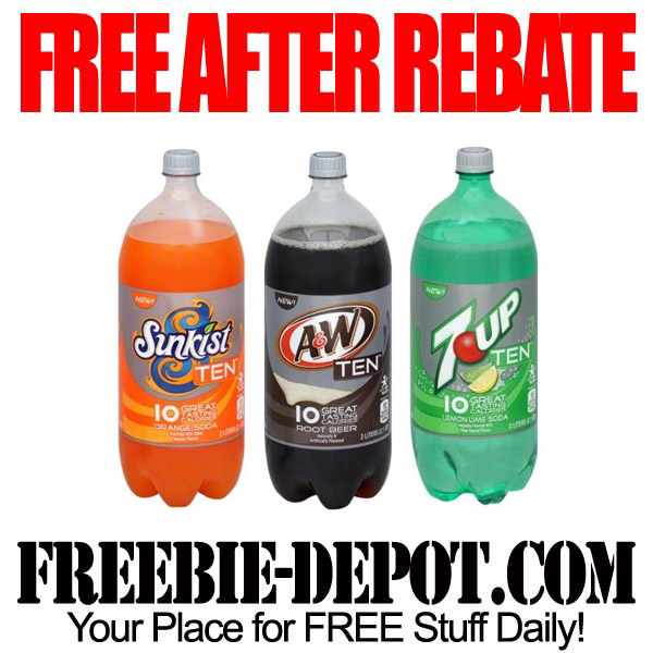 Free After Rebate Soda