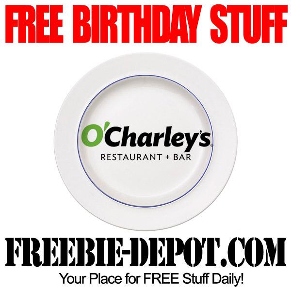 Free Birthday O'Charley's