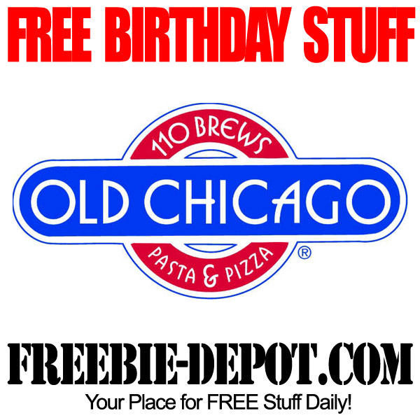 Free Birthday Old Chicago Pizza